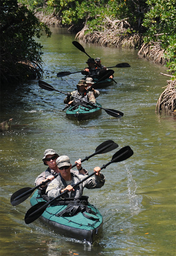 Kayaks Canoes Special Operations Forces